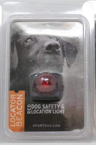 SportDOG Locator Beacon Dog Safety and Location Light - Red