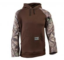 pullover hoodie brown camo